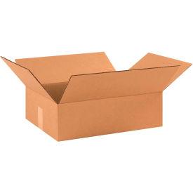 "Flat Cardboard Corrugated Boxes 17"" x 13"" x 5"" 200#/ECT-32 - Pkg Qty 25"
