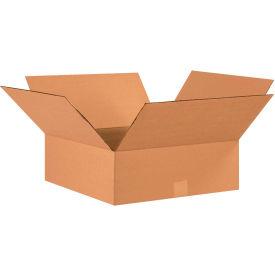 "Flat Cardboard Corrugated Boxes 17"" x 17"" x 6"" 200#/ECT-32 - Pkg Qty 20"