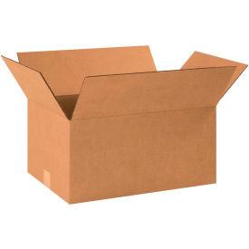 "Cardboard Corrugated Boxes 18-1/2"" x 12-1/2"" x 9"" 200#/ECT-32 - Pkg Qty 25"