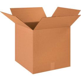 "Cube Cardboard Corrugated Boxes 18"" x 18"" x 18"" 200#/ECT-32 - Pkg Qty 20"