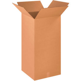 "Tall Cardboard Corrugated Boxes 18"" x 18"" x 36"" 200#/ECT-32 - Pkg Qty 10"
