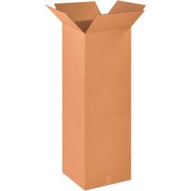 "Tall Cardboard Corrugated Boxes 18"" x 18"" x 48"" 200#/ECT-32 - Pkg Qty 10"