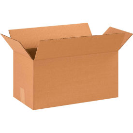 "Long Cardboard Corrugated Boxes 18"" x 9"" x 9"" 200#/ECT-32 - Pkg Qty 25"