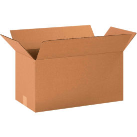"Long Cardboard Corrugated Boxes 20"" x 10"" x 10"" 200#/ECT-32 - Pkg Qty 25"