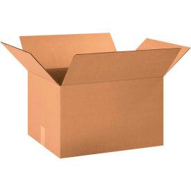"Cardboard Corrugated Boxes 20"" x 15"" x 12"" 200#/ECT-32 - Pkg Qty 25"