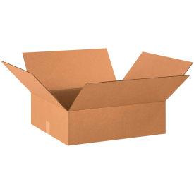 "Flat Cardboard Corrugated Boxes 20"" x 18"" x 6"" 200#/ECT-32 - Pkg Qty 25"