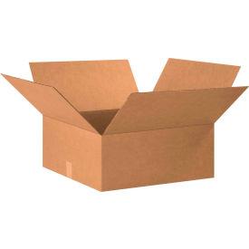 "Flat Cardboard Corrugated Boxes 20"" x 20"" x 8"" 200#/ECT-32 - Pkg Qty 15"