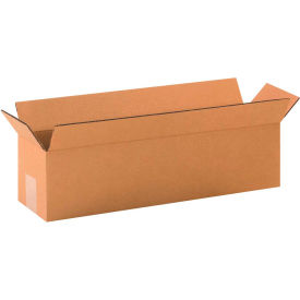 "Long Cardboard Corrugated Boxes 20"" x 5"" x 5"" 200#/ECT-32 - Pkg Qty 25"