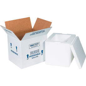 "Insulated Shipping Kits, 8"" x 6"" x 7"", 8 Kits"