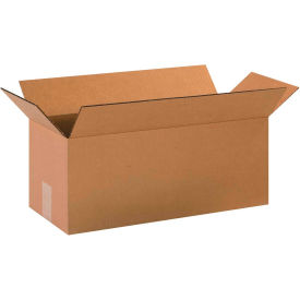 "Long Cardboard Corrugated Boxes 20"" x 8"" x 8"" 200#/ECT-32 - Pkg Qty 25"