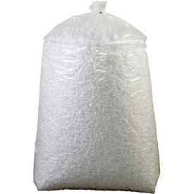 Loose Fill Packing Peanuts, 20 Cubic Feet, White - 20NUTSW