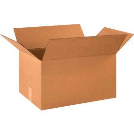 "Cardboard Corrugated Boxes 21"" x 14"" x 10"" 200#/ECT-32 - Pkg Qty 20"