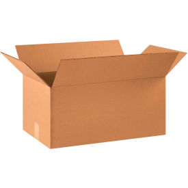 "Cardboard Corrugated Boxes 22"" x 12"" x 10"" 200#/ECT-32 - Pkg Qty 20"