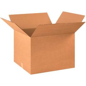 "Cardboard Corrugated Boxes 22"" x 18"" x 16"" 200#/ECT-32 - Pkg Qty 15"