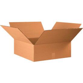 "Flat Cardboard Corrugated Boxes 22"" x 22"" x 8"" 200#/ECT-32 - Pkg Qty 15"