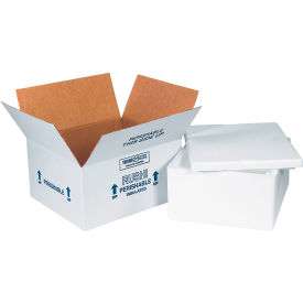 "Insulated Shipping Kits, 12"" x 10"" x 5"", 4 Kits"
