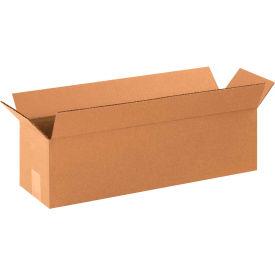 "Long Cardboard Corrugated Boxes 22"" x 6"" x 6"" 200#/ECT-32 - Pkg Qty 25"