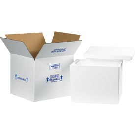 "Insulated Shipping Kit, 13-3/4"" x 11-3/4"" x 11-7/8"""