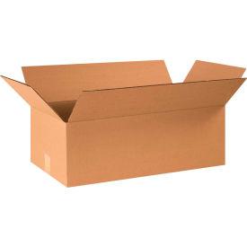 "Cardboard Corrugated Boxes 24"" x 12"" x 8"" 200#/ECT-32 - Pkg Qty 25"