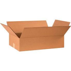 "Flat Cardboard Corrugated Boxes 24"" x 14"" x 6"" 200#/ECT-32 - Pkg Qty 25"