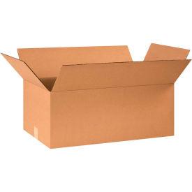 "Cardboard Corrugated Boxes 24"" x 15"" x 10"" 200#/ECT-32 - Pkg Qty 20"