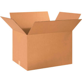 "Cardboard Corrugated Boxes 24"" x 17"" x 15"" 200#/ECT-32 - Pkg Qty 15"