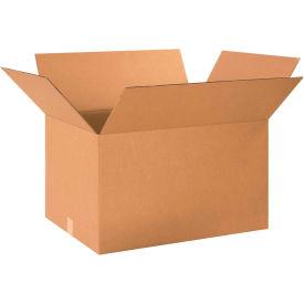 "Cardboard Corrugated Boxes 24"" x 18"" x 14"" 200#/ECT-32 - Pkg Qty 15"