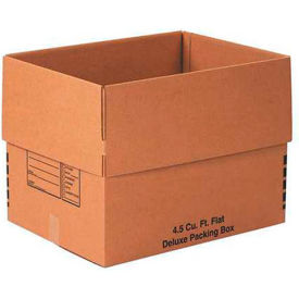 """Deluxe Cardboard Corrugated Packing Boxes 24"""" x 18"""" x 18"""" 200#/ECT-32 - Pkg Qty 10"""
