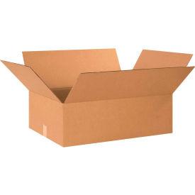 "Cardboard Corrugated Boxes 24"" x 18"" x 8"" 200#/ECT-32 - Pkg Qty 20"