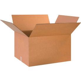 "Cardboard Corrugated Boxes 24"" x 20"" x 14"" 200#/ECT-32 - Pkg Qty 10"