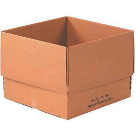 """Deluxe Cardboard Corrugated Packing Boxes 24"""" x 24"""" x 18"""" 200#/ECT-32 - Pkg Qty 10"""