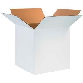 "Cardboard Corrugated Boxes 24"" x 24"" x 24"" 200#/ECT-32, White - Pkg Qty 10"