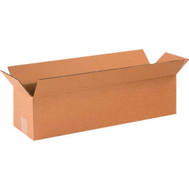 "Long Cardboard Corrugated Boxes 24"" x 6"" x 6"" 200#/ECT-32 - Pkg Qty 25"