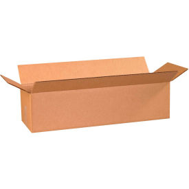 "Long Cardboard Corrugated Boxes 24"" x 8"" x 6"" 200#/ECT-32 - Pkg Qty 25"