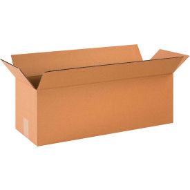 "Long Cardboard Corrugated Boxes 24"" x 8"" x 8"" 200#/ECT-32 - Pkg Qty 25"