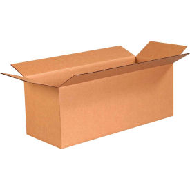 "Long Cardboard Corrugated Boxes 24"" x 9"" x 9"" 200#/ECT-32 - Pkg Qty 25"
