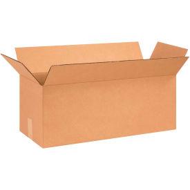"Long Cardboard Corrugated Boxes 26"" x 10"" x 10"" 200#/ECT-32 - Pkg Qty 25"