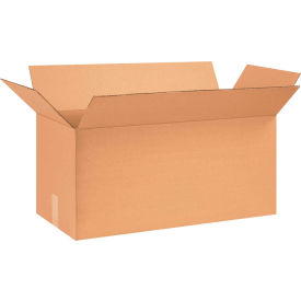 "Long Cardboard Corrugated Boxes 26"" x 12"" x 12"" 200#/ECT-32 - Pkg Qty 20"