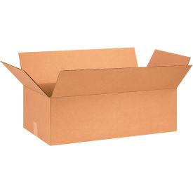 "Cardboard Corrugated Boxes 26"" x 13"" x 8"" 200#/ECT-32 - Pkg Qty 20"