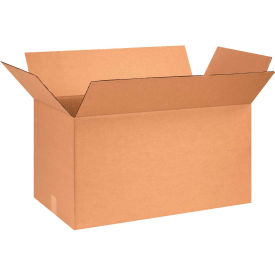 "Cardboard Corrugated Boxes 26"" x 14"" x 14"" 200#/ECT-32 - Pkg Qty 10"