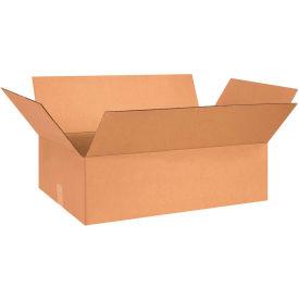 "Flat Cardboard Corrugated Boxes 26"" x 15"" x 5"" 200#/ECT-32 - Pkg Qty 20"