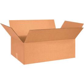 "Flat Cardboard Corrugated Boxes 26"" x 15"" x 7"" 200#/ECT-32 - Pkg Qty 20"
