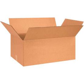 "Cardboard Corrugated Boxes 26"" x 16"" x 10"" 200#/ECT-32 - Pkg Qty 20"