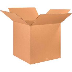 "Cube Cardboard Corrugated Boxes 26"" x 26"" x 26"" 200#/ECT-32 - Pkg Qty 10"