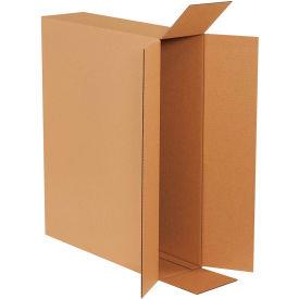 "Side Loading Cardboard Corrugated Boxes 26"" x 6"" x 20"" 200#/ECT-32 - Pkg Qty 10"