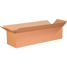 "Long Cardboard Corrugated Boxes 26"" x 6"" x 6"" 200#/ECT-32 - Pkg Qty 25"