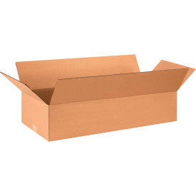 "Flat Cardboard Corrugated Boxes 28"" x 12"" x 6"" 200#/ECT-32 - Pkg Qty 25"