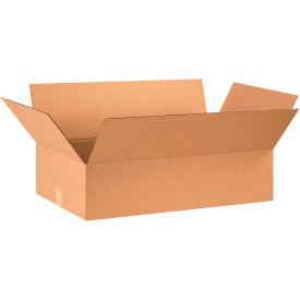 "Flat Cardboard Corrugated Boxes 28"" x 16"" x 7"" 200#/ECT-32 - Pkg Qty 20"