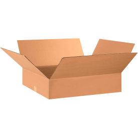 "Flat Cardboard Corrugated Boxes 28"" x 17"" x 5"" 200#/ECT-32 - Pkg Qty 15"