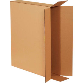 "Side Loading Cardboard Corrugated Boxes 28"" x 5"" x 24"" 200#/ECT-32 - Pkg Qty 10"